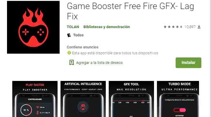 Game Booster mejora y acelera los gráficos de cualquier juego