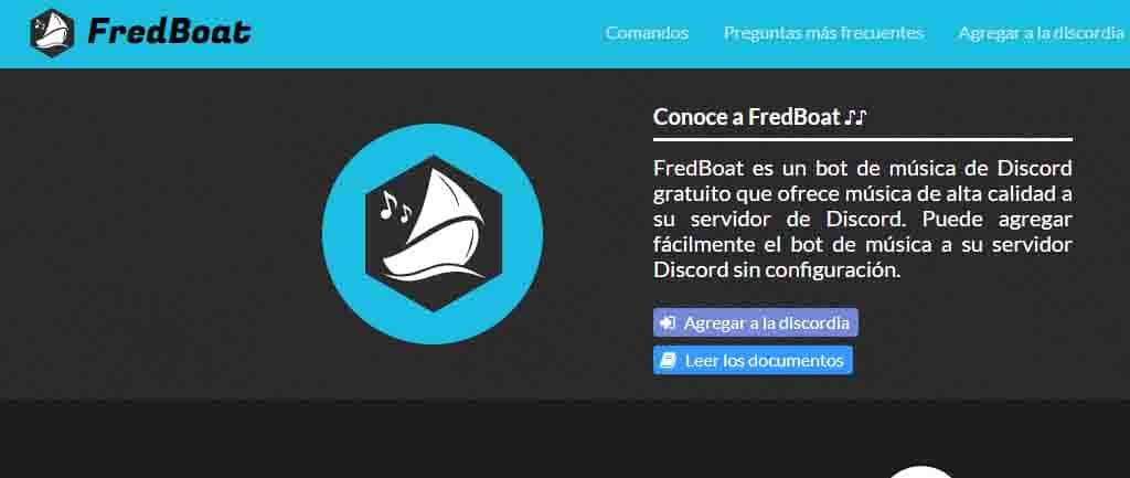 Fredboat- servidor de musica para discord