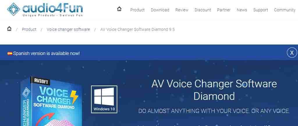 modulador de voz Av Voice