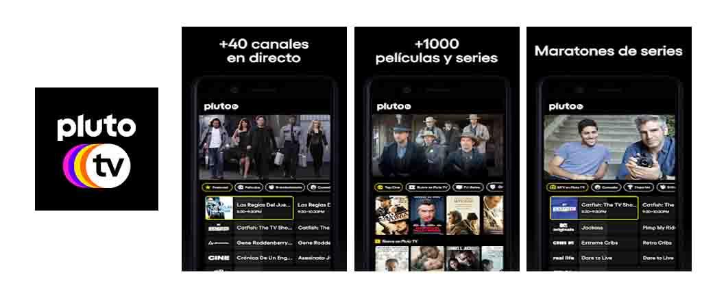 PlutoTv-app para ver peliculas apk