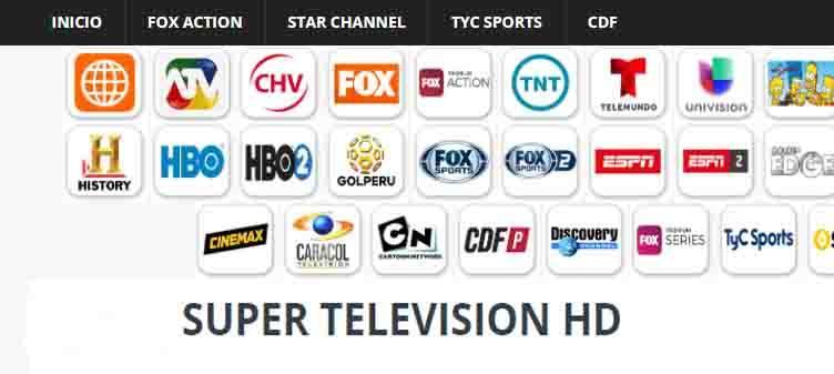 SupertelevisionHd ver cdf en linea