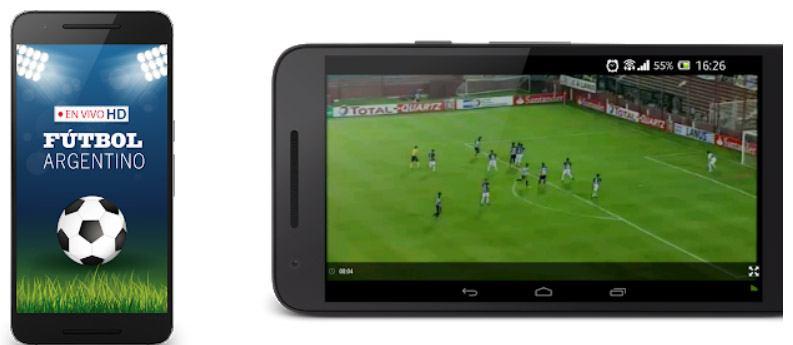app para ver futbol argentino gratis